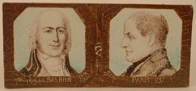 Portraits de Jean-Baptiste Mohler et Jean-Louis Mohler_0