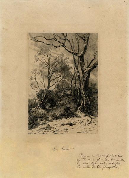 ABRAHAM Tancrède : En hiver
