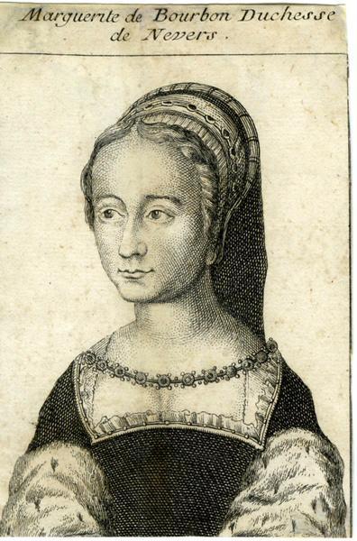 Marguerite de Bourbon Duchesse de Nevers