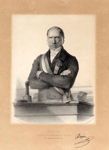 JACOB Nicolas Henri (lithographe), JACOMME & Cie (imprimeur, lithographe) : Dupin