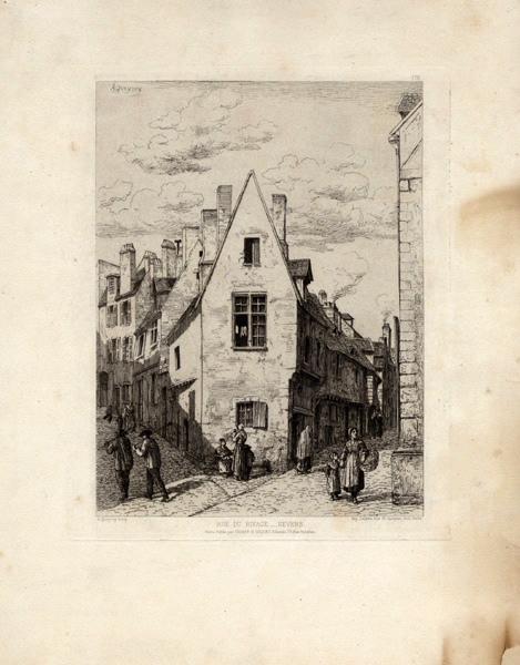 QUEYROY Mathurin Louis Armand (graveur), DELATRE Auguste (imprimeur), CADART & LUQUET (éditeur) : Rue du Rivage