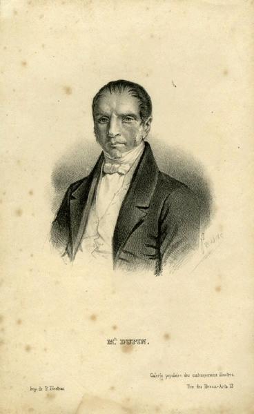 PRESSAC (graveur), BINETEAU P (imprimeur) : Mr. Dupin