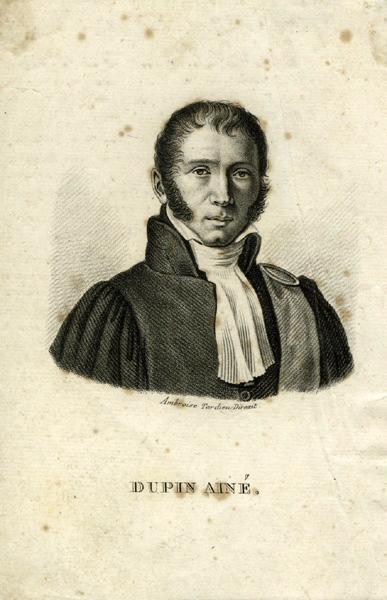 TARDIEU Ambroise (graveur) : Dupin Aîné