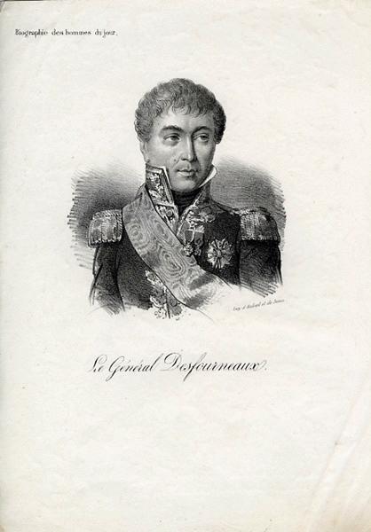 FORESTIER Charles Aimé, AUBERT ET JUNCA (imprimeur) : Le Général Desfourneaux