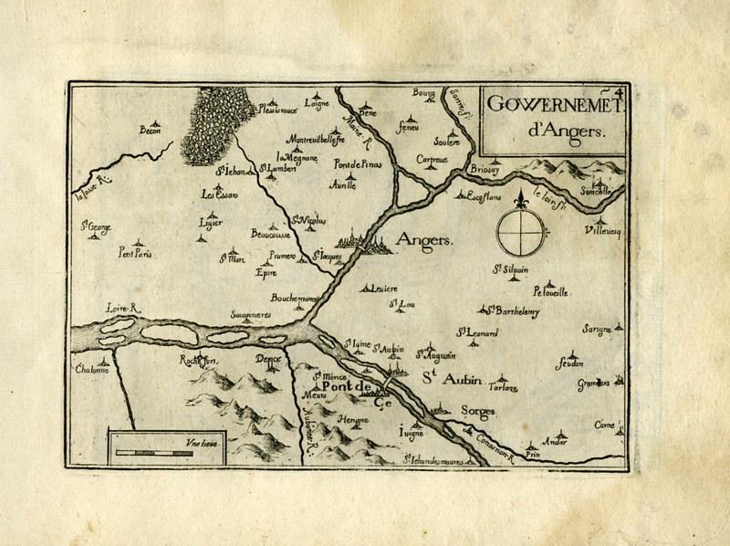 TASSIN Nicolas (graveur) : Plan et profils des villes de la Loire