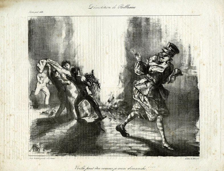 BERNARD A (graveur), AUBERT & Cie (éditeur) : Démolition de paillasse