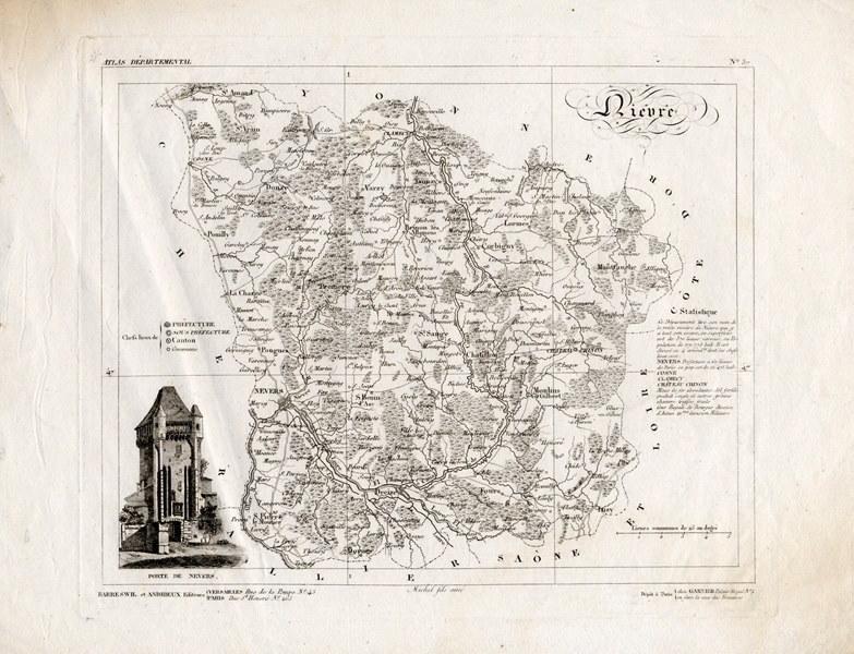 MICHEL Fils Aîné (éditeur), BARRESWIL & ANDRIEUX (éditeur) : Nièvre