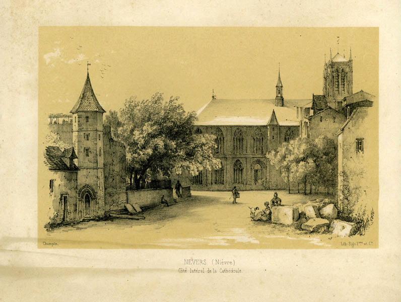 CHAMPIN Jean-Jacques, RIGO Frères & Cie (lithographe) : Nevers