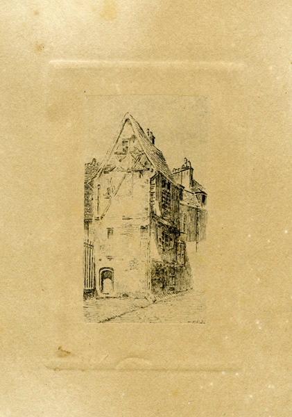 Maison rue Saint-Genest à Nevers