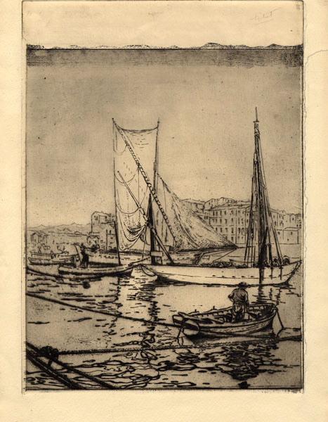 GUDIN DE VALLERIN Etienne (graveur) : Marine