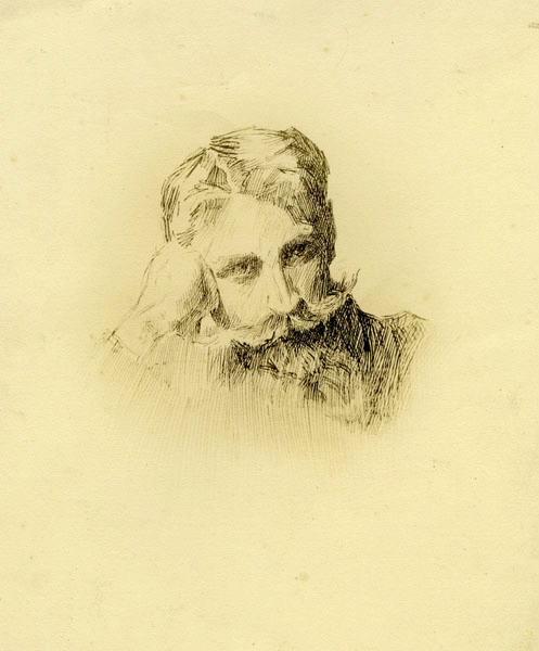 Gudin de Vallerin, autoportrait_0