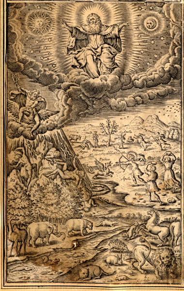 GAULTIER Léonard (graveur) : La création du monde
