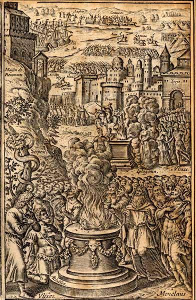 GAULTIER Léonard (graveur) : Ménélas et Ulysse