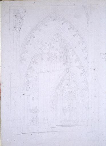 Vue de la tribune d'orgue de la cathédrale d'Autun_0