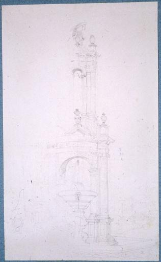 La fontaine Saint-Lazare à Autun_0