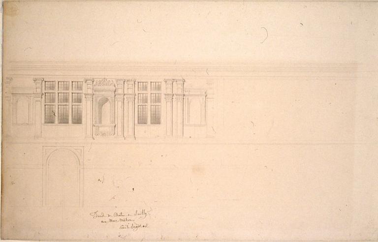 Détail de la façade du château de Sully_0