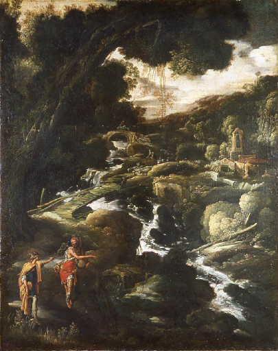 Mercure et le berger