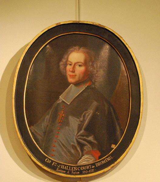 Portrait de Charles-François d'Hallencourt de Dromesnil (Evêque d'Autun de 1710 à 1721)_0