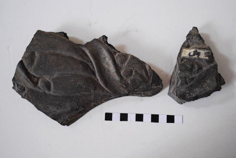anonyme (sculpteur) : Décor végétal formé de gros pétales
