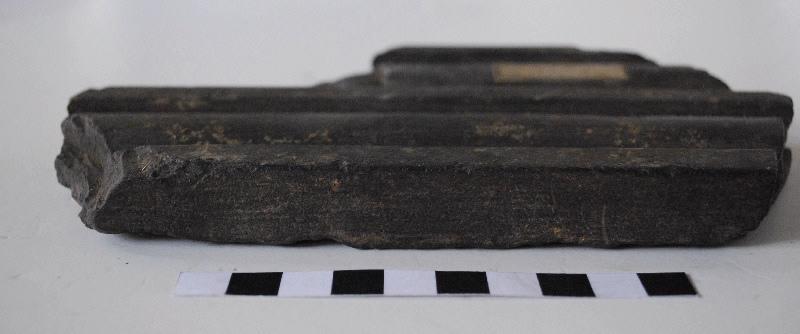 anonyme (sculpteur) : élément d'architecture, pilastre, fragment