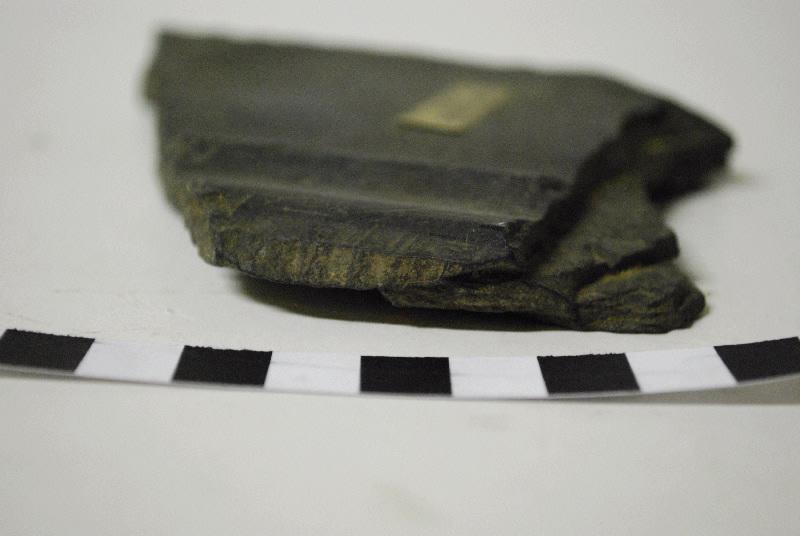 anonyme (sculpteur) : Fragment de bordure de cadre de panneau taillé et mouluré