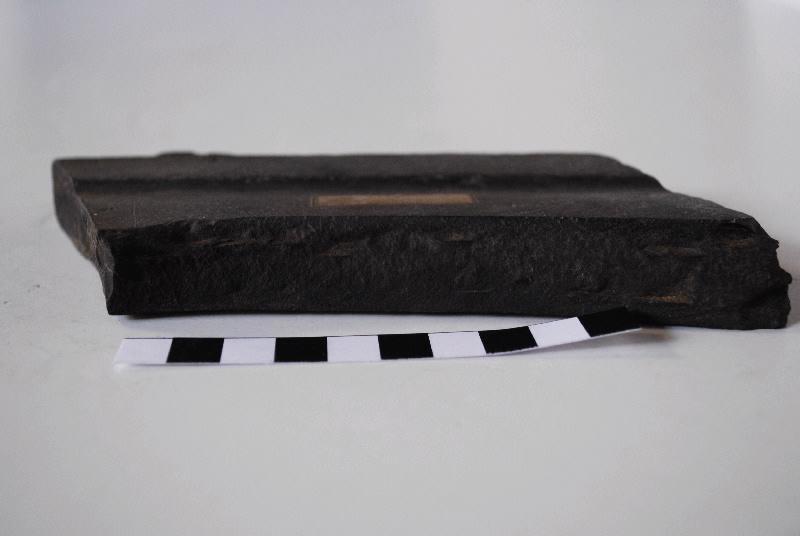 anonyme (sculpteur) : Fragment panneau taillé et mouluré