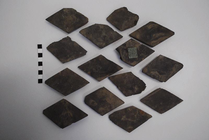 anonyme (sculpteur) : dalle, fragment (14)