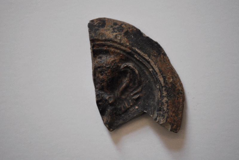 anonyme (céramiste) : lampe à huile (fragment, 7)