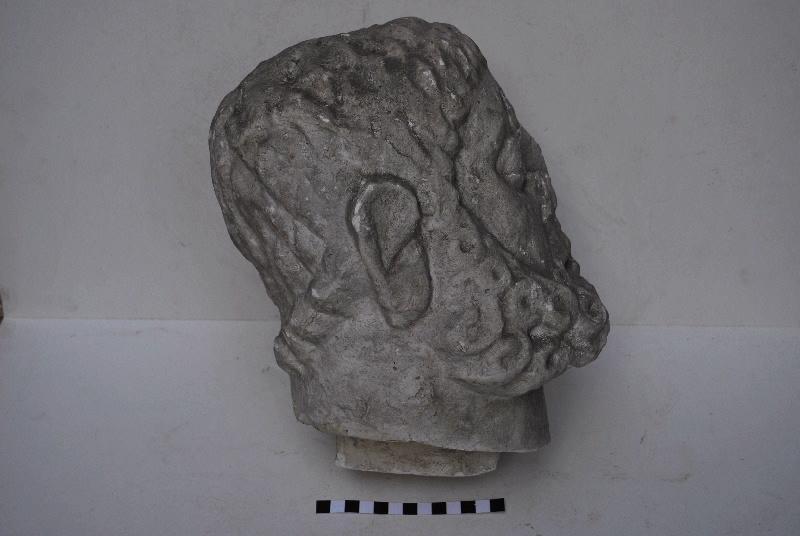statue : Tête de Jupiter