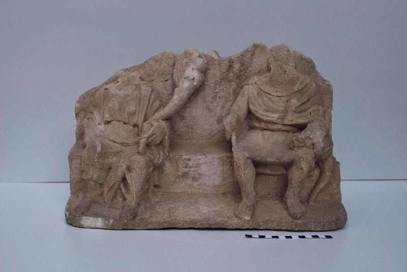 statuette : Couple éduen