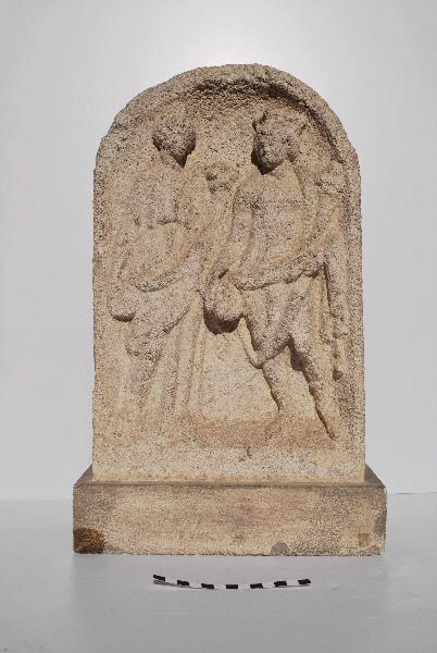 anonyme (sculpteur) : Couple éduen
