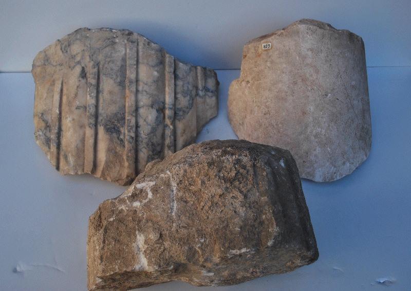 anonyme (artisan) : colonne, fragment