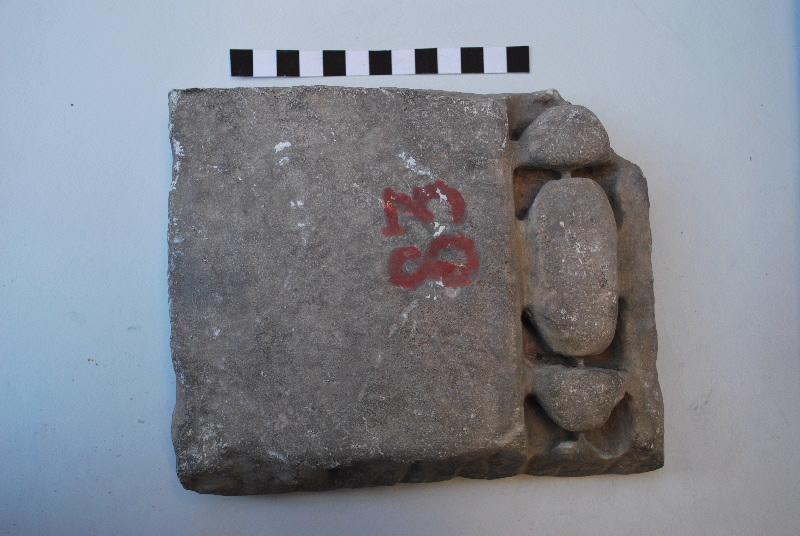 anonyme (sculpteur) : plaque, fragment
