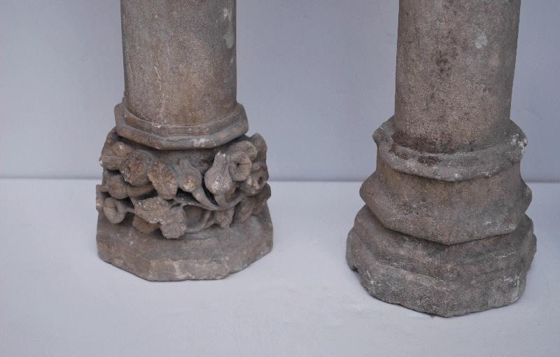 anonyme (artisan) : élément d'architecture, fragment (9)