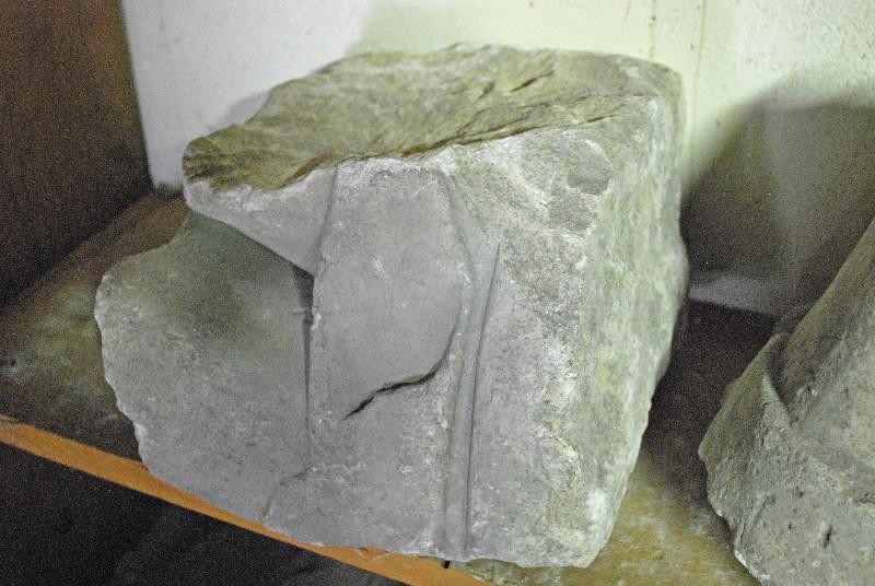 anonyme (artisan) : élément d'architecture, fragment (2)