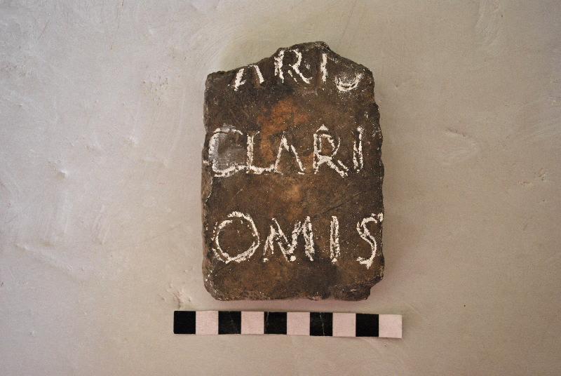 plaque : Inscription