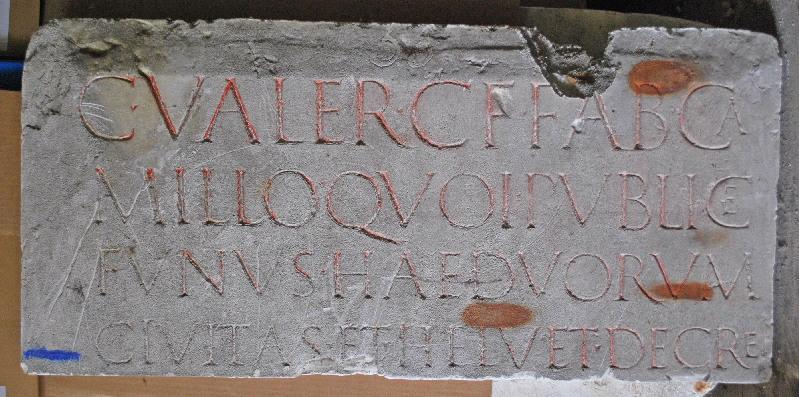 anonyme (sculpteur), anonyme (artisan) : plaque