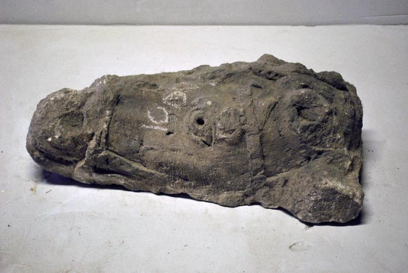 anonyme (sculpteur) : Tête de cheval