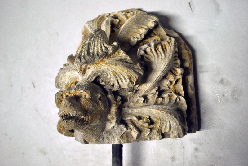 anonyme (sculpteur) : Tête fantastique
