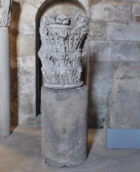 anonyme (sculpteur) : chapiteau