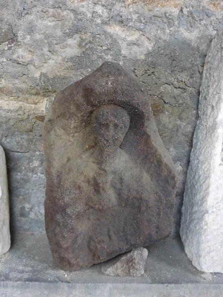 anonyme (sculpteur) : stèle, fragment