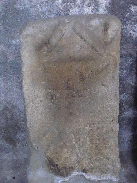 anonyme (sculpteur) : Stèle à inscription SIISTINAE