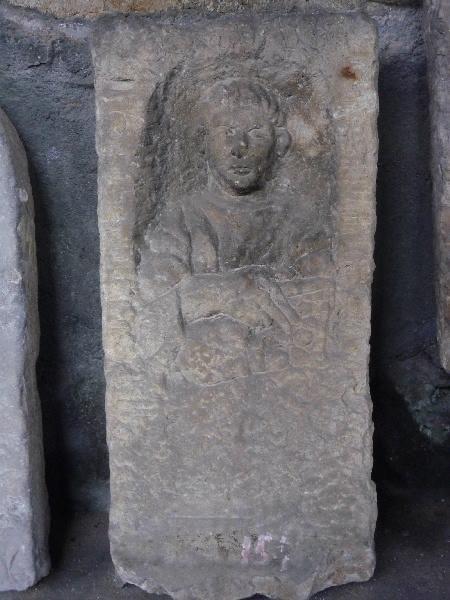 Stèle à inscription ...C...ACV...LLIM_0