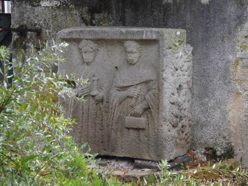 anonyme (artisan) : Stèle de couple