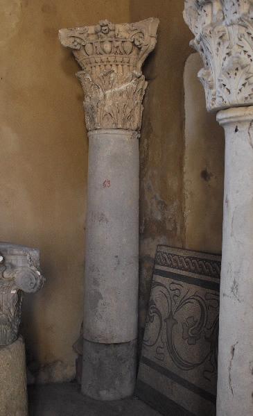 anonyme (sculpteur) : colonne