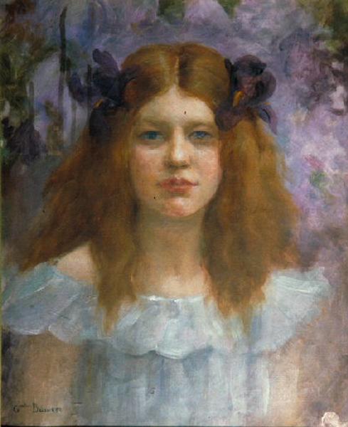 Jeune fille aux iris_0
