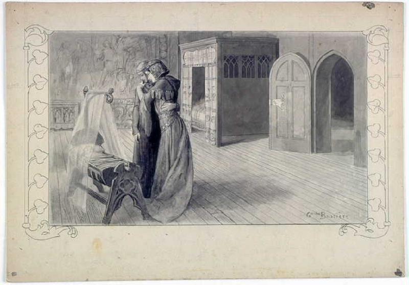Abeille, chapitre 02 : Ce que la rose blanche annonce à la Comtesse de Blanchelande_0