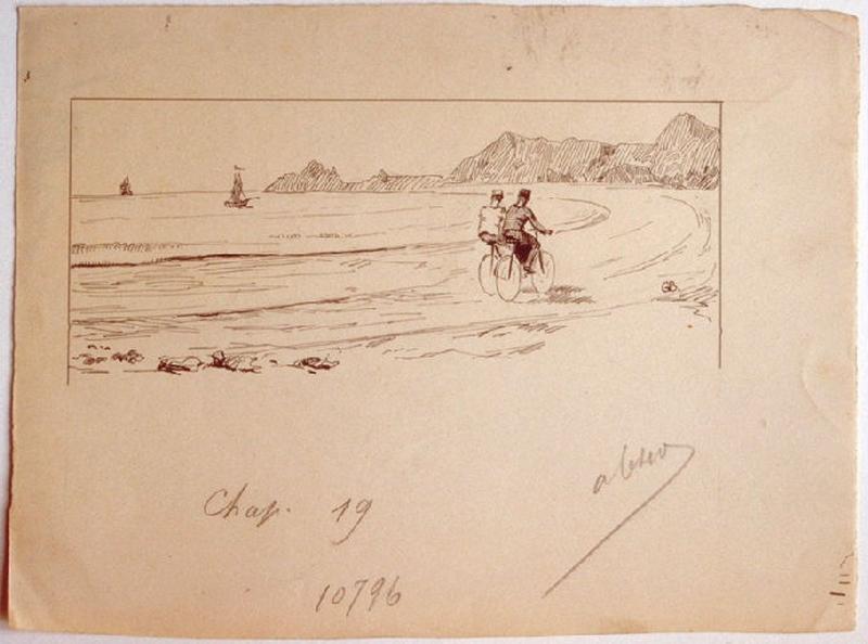 La France en bicyclette, chapitre 19 : La mer - Hyères - Toulon_0