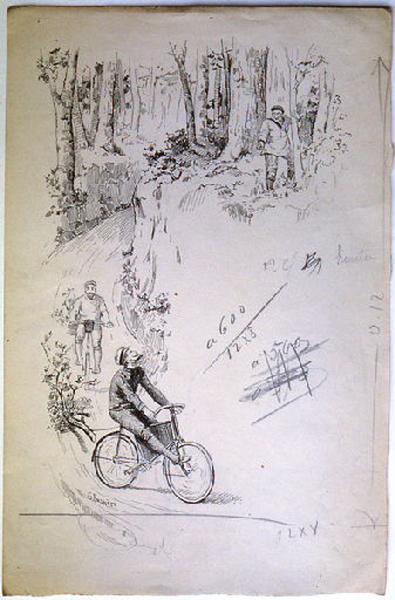 La France en bicyclette, chapitre 07 : Autun - Le Creusot - Blanzy_0