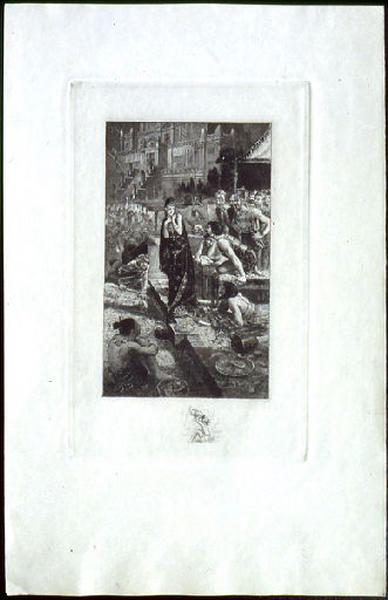 Salammbô, chapitre 01 : Le festin